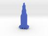 Game Piece, Saturn V Apollo Moon Rocket 3d printed