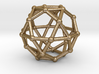 0393 Icosidodecahedron V&E (a=1cm) #002 3d printed