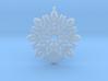 Classic Snowflake 3d printed