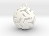 Star Ball Classic X-Mas Bauble 3d printed