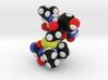 Oxytocin Nona Peptide Molecule Model  3d printed