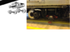 N Scale Washington DC Metro 7000 (4) 3d printed trucks and wheels