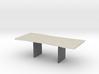 Wood Slab Table - 001 1:12 scale 3d printed