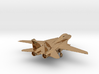 F14 grumman jet gold & precious materials small 3d printed