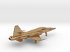 Jet F5 Tiger gold & other precious materials 3d printed