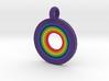 Rainbow Pendant 3d printed