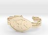 "2.5"" Wolf Bracelet 3d printed"