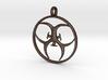[The 100] Trigedakru Symbol Pendant - Woods Clan 3d printed