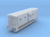 Sou Ry. bay window caboose - Round roof - HO scale 3d printed