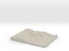 Model of Chimney Rock 3d printed