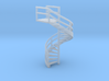 N Scale Fire Escape 1 3d printed