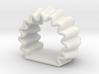 DRAW napkin ring - flat bottom 2mm wall 3d printed