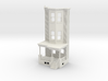O scale WEST PHILLY 3S ROW HOME Brick RD FRONT 3d printed