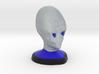 Alien Bust 3d printed