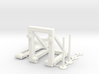 Rubber-band catapult 3d printed