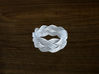 Turk's Head Knot Ring 4 Part X 9 Bight - Size 8 3d printed