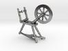 Spinning Wheel Pendant 3d printed