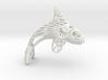 Alaskan Orca Ornament 3d printed