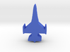 Game Piece, Blue Force Falcon Fighter 3d printed