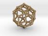 0304 Rhombic Triacontahedron V&E (a=1cm) #002 3d printed