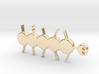 Happy worm 3d printed