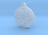 Star Sapphire Key Chain 3d printed