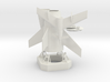 1/350 VON BRAUN MOON ROCKET W/ LAUNCH PAD 3d printed