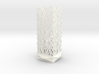 Square Column Small - Undulation Design (ripples) 3d printed