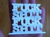 Fuck Shit Stack 3d printed little bit of fuck shit in the hand