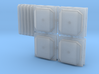 BNSF PTC Antenna Pack (N - 1:160) 3d printed
