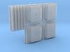 BNSF PTC Antenna Pack (HO -1:87) 3d printed