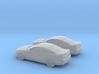 1/144 2X 2006 Pontiac GT 3d printed