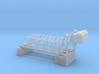 Double Bascule Lift Bridge Z Scale 3d printed Double track Bascule bridge Z scale