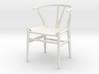 1:12 Chair Wishbone 3d printed