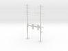 HO Scale PRR W-signal Beam 2 Track  W 2-3 PHASE R 3d printed