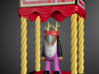 Circus Booth 3d printed Magic Man Takes the Stage