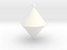 The pendant of cone 3d printed