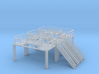 N Scale 3x Refinery Stairs (modular) 3d printed