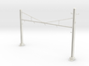 PRR CATENARY HO SCALE 4TRK CURVED STEADY 3d printed