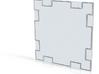 Corridor Wall - 4th iteration 3d printed