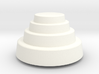 DRAW paperweight - terraced dome solid 3d printed