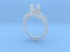 Ic9-B2- Engagement Ring 3d printed