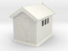 Garden shed 01. HO Scale (1:87) 3d printed