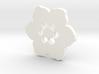 Happy Flower Pendant 3d printed