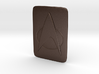 Saturn Hood Emblem Star Trek TNG Insignia 3d printed