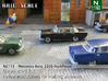 Mercedes-Benz 220S (N 1:160) 3d printed