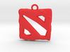 DOTA 2 Emblem 3d printed