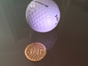 Personalized Golf Ball Marker 3d printed The design resembles the dimples of a golf ball.