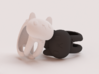 CatRing size 9 3d printed CGI not real product**