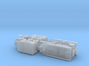 French Laffly S 35 T Tractor w. Tank-Trailer 1/285 3d printed